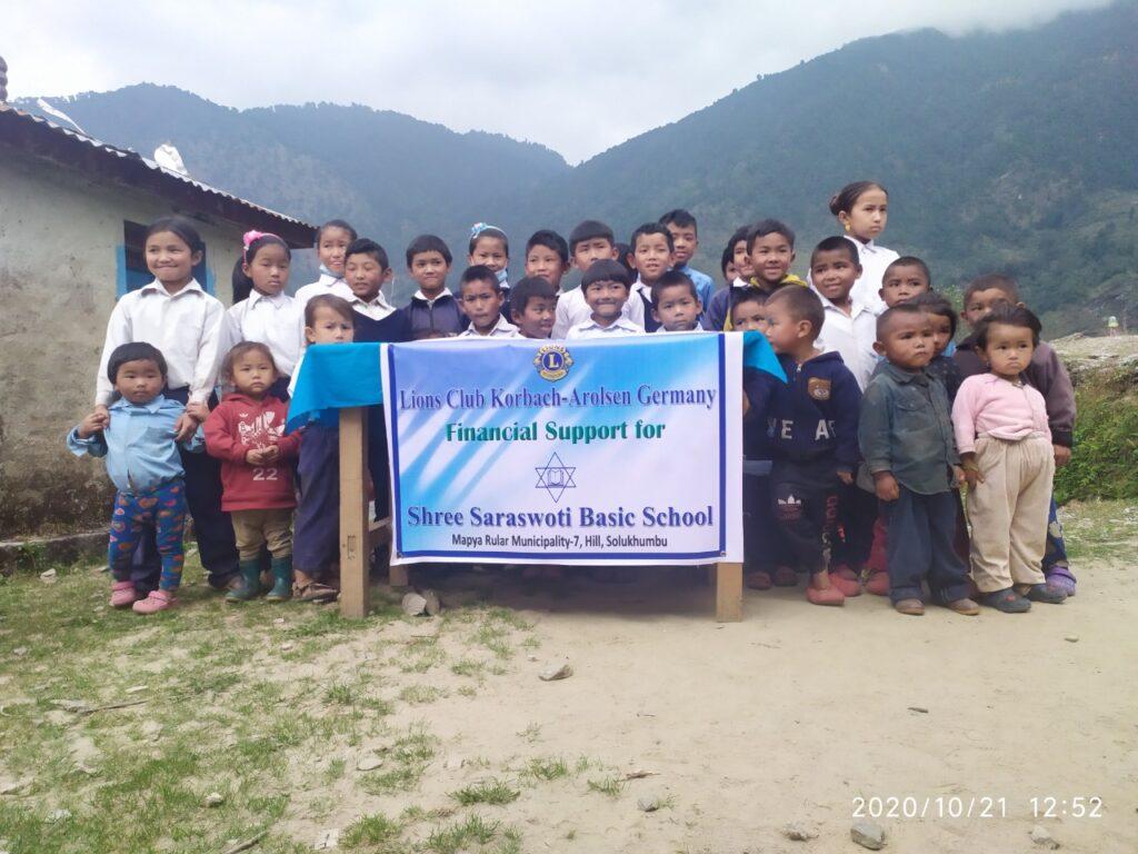 Spende für eine Schule in Nepal