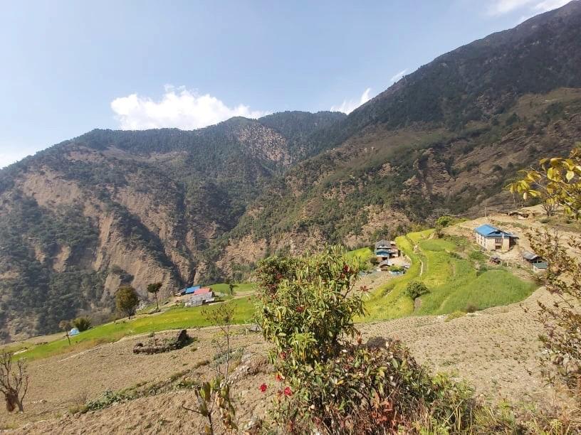 Landschaftsbild Nepal